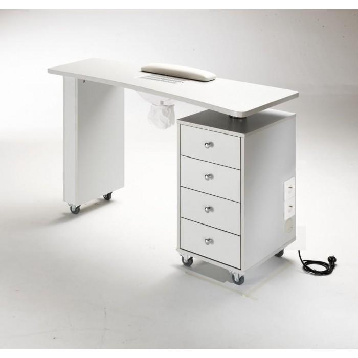 Маникюрный стол со встроенной вытяжкой Uki Nails 04 С
